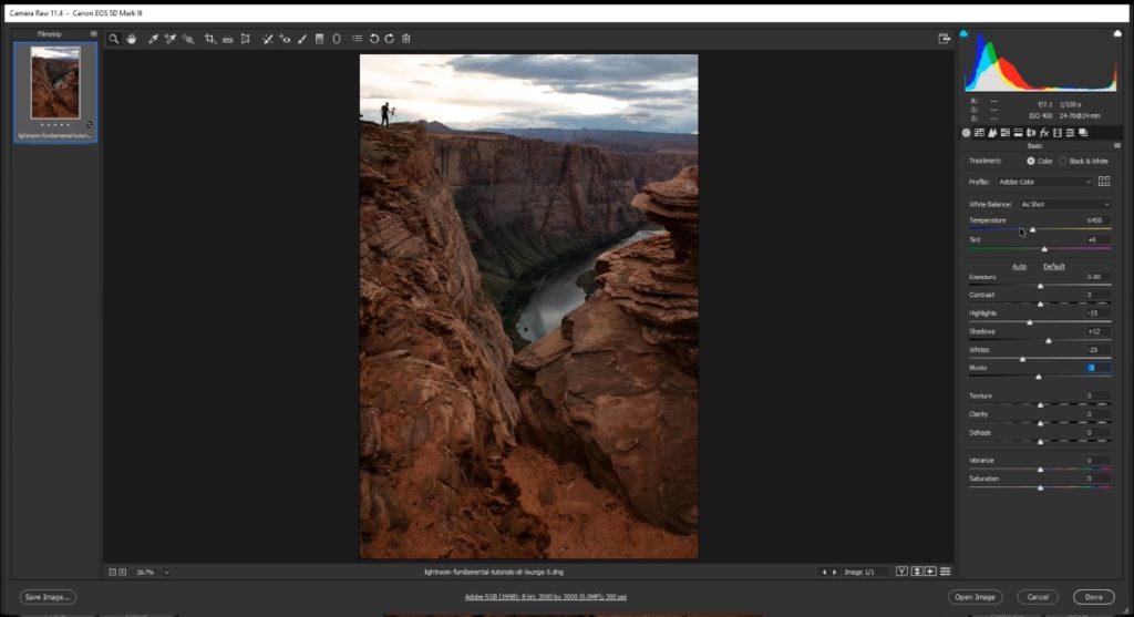 lightroom vs camera raw bridge adobe acr interface 3