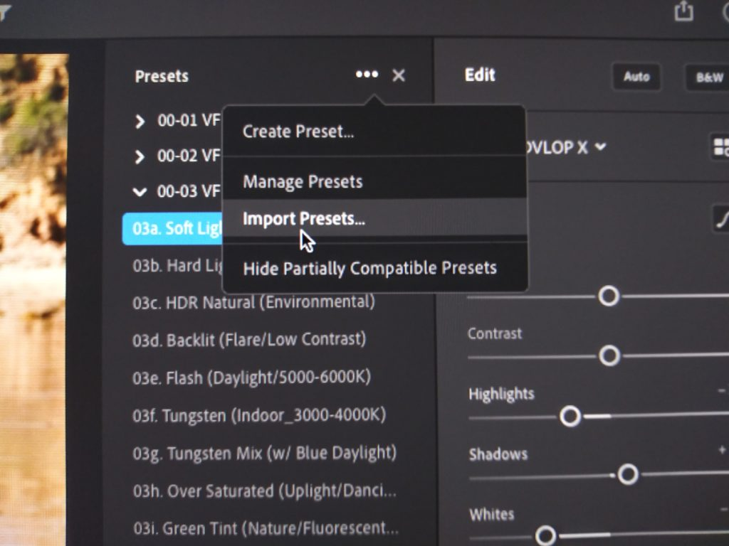 how to install presets in lightroom creative cloud cc