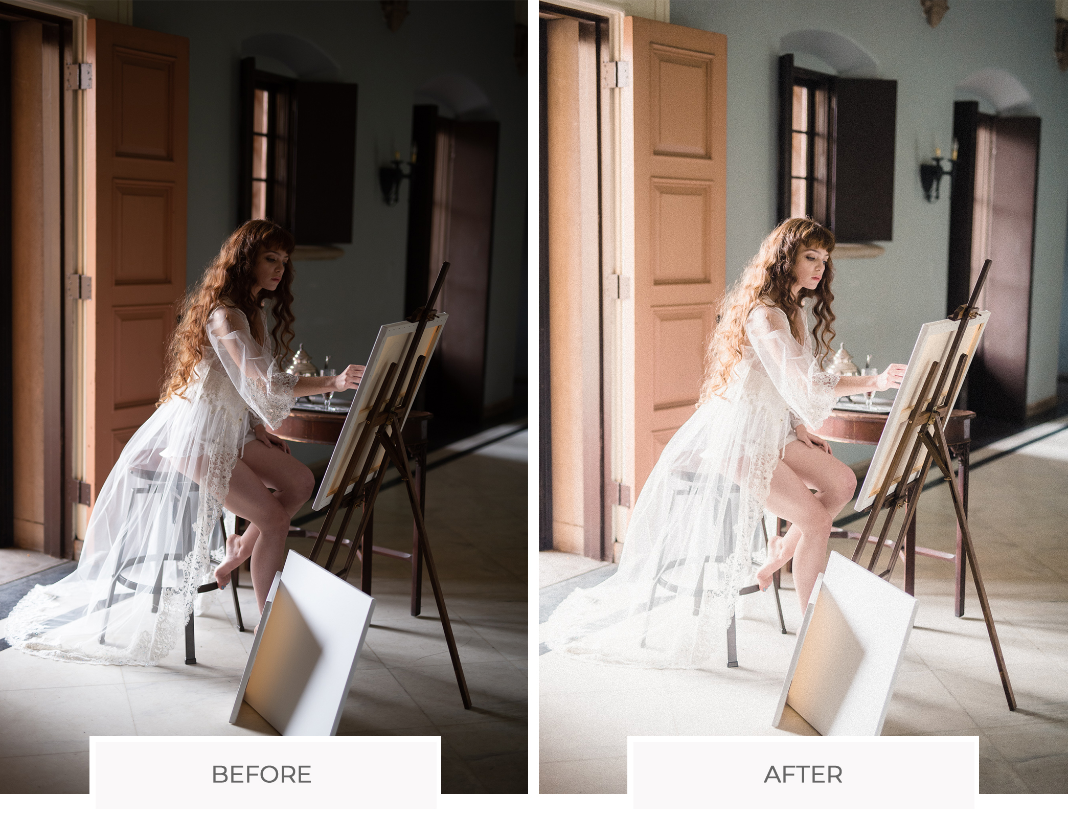 bright airly lightroom presets
