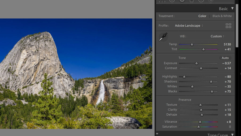 lightroom presence 2 develop module tutorial 1