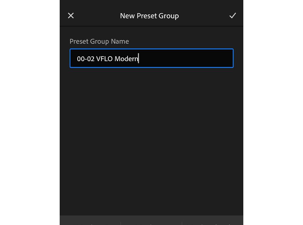 preset group